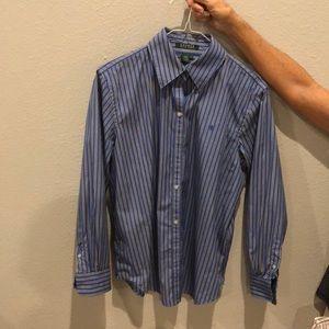 2 Lauren by Ralph Lauren button up shirts-Women's